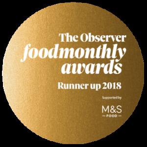 Observer Food Monthly Awards 2018 Runner Up