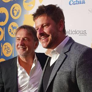 Raymond Blanc and Andrei Lussmann at the Food Made Good Awards 2018