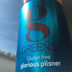 Greens gluten free beer