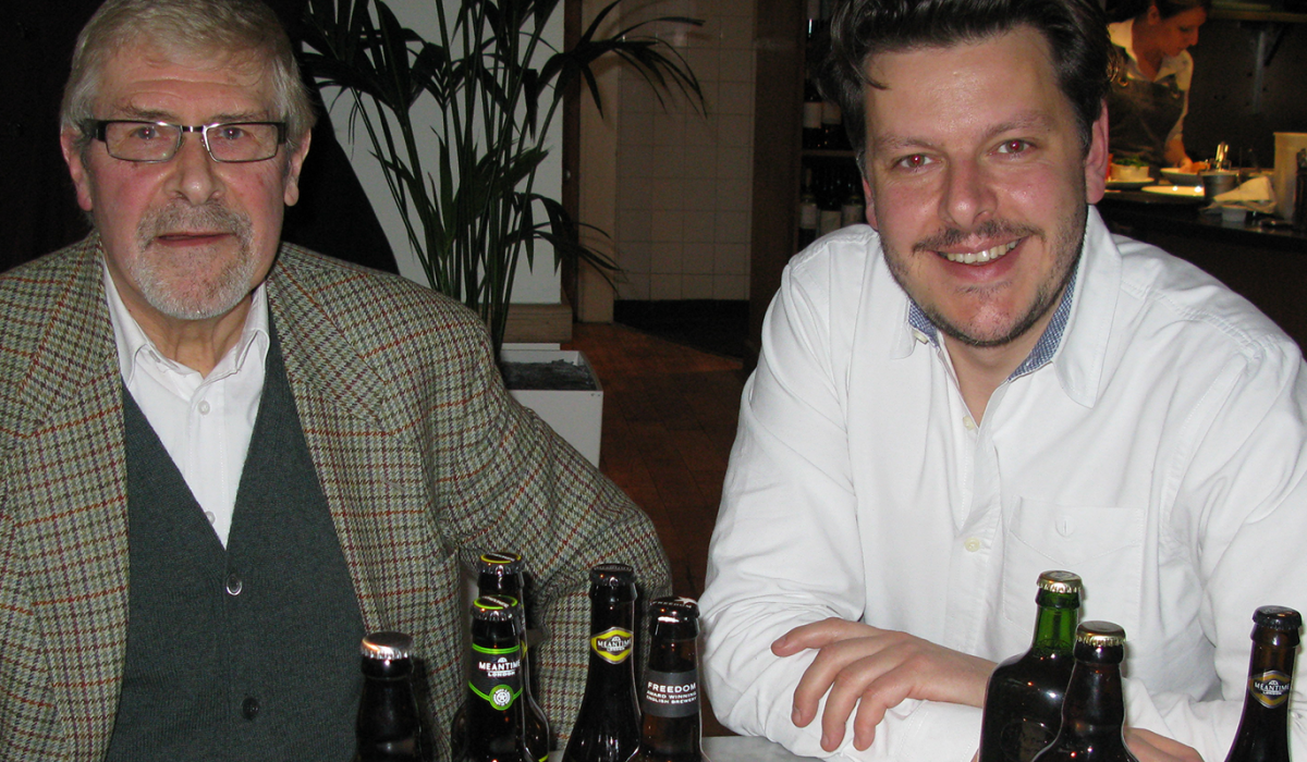 Roger Protz and Andrei Lussmann